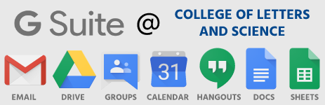 G Suite at College of Letters and Science