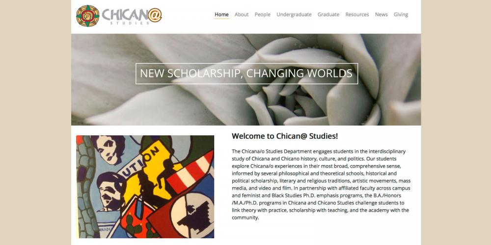 Department of Chicana and Chicano Studies