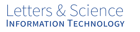 Letters and Science IT - UC Santa Barbara